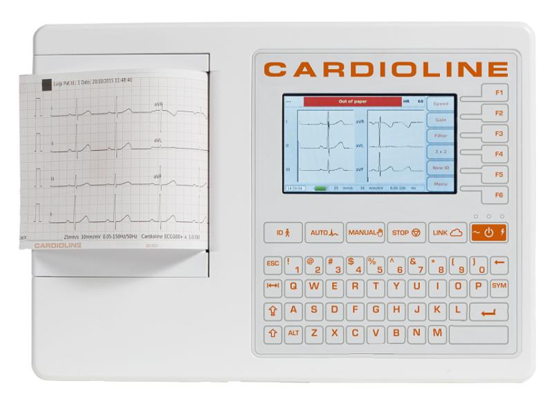 CARDIOLINE ECG100S